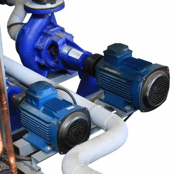 موتورهای کارخانه یخسازی