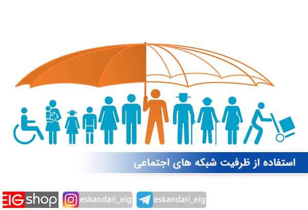 استفاده از ظرفیت شبکه های اجتماعی