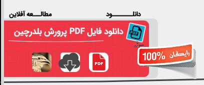 دانلود فایل PDF پرورش بلدرچین