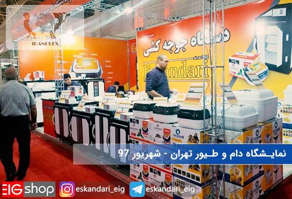 01-نمایشگاه دام و طیور تهران شهریور 97 - سالن چهل و یک