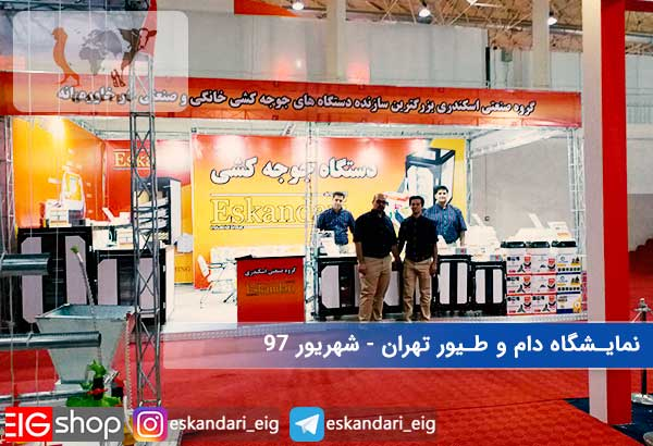 03-نمایشگاه دام و طیور تهران شهریور 97 - سالن چهل و یک