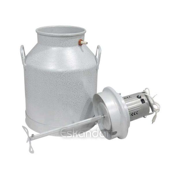 دستگاه کره گیر بالازن برقی 40 لیتر