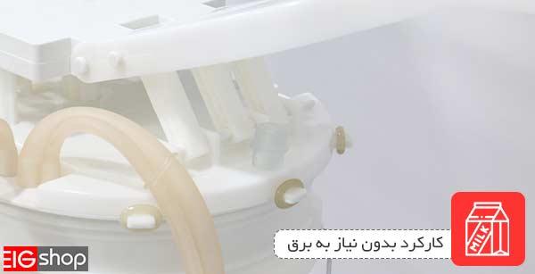 کارکرد بدون نیاز به برق با استفاده از نیروی دست