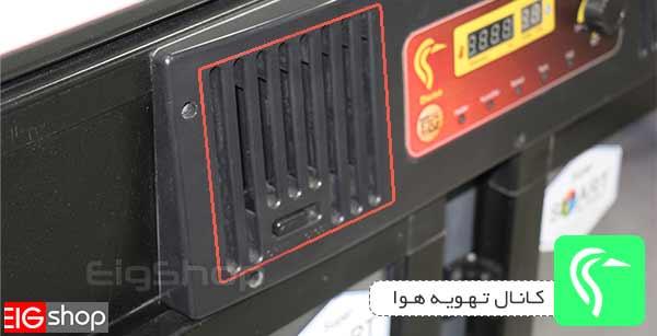 کانال تهویه هوا دستگاه جوجه کشی درنا 4