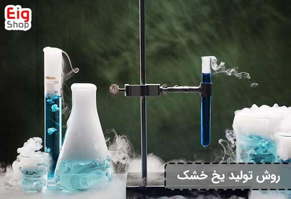 روش تولید یخ خشک
