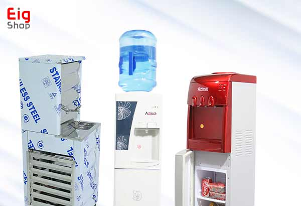 انواع دستگاه آبسردکن-گروه صنعتی EIG