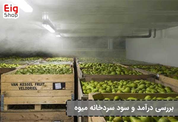 سود سردخانه میوه-گروه صنعتی eig